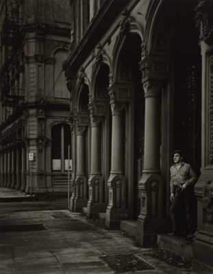Minor White (American, 1908-1976), Arches of the Dodd Building (Southwest Front Avenue and Ankeny Street), 1938, gelatin silver print.