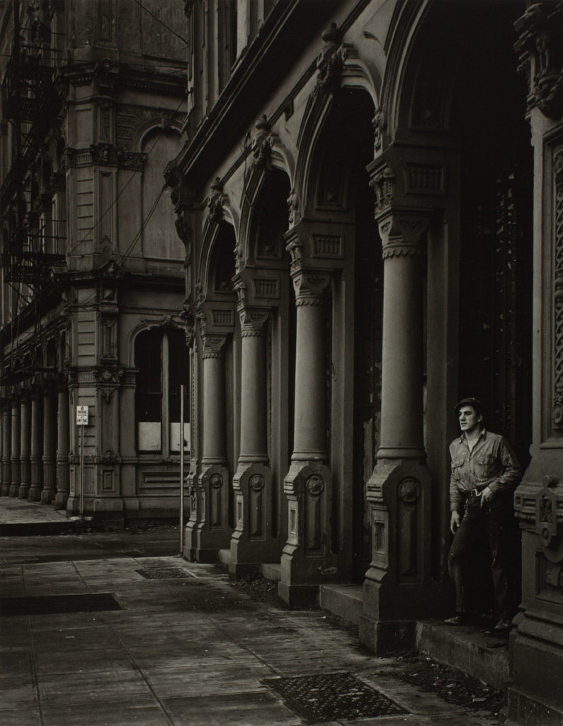 Minor White (American, 1908-1976), Arches of the Dodd Building (Southwest Front Avenue and Ankeny Street), 1938, gelatin silver print, Courtesy of the Fine Arts Program, Public Buildings Service, U.S. General Services Administration. Commissioned through the New Deal art projects, no known copyright restrictions, L42.3.39