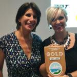 Gold Status Award presentation