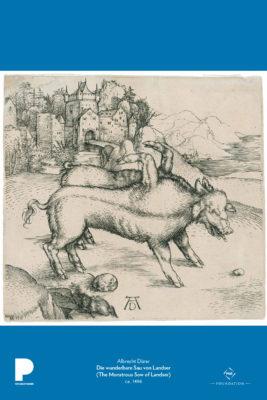 Albrecht Dürer, Die wunderbare Sau von Landser (The Monstrous Sow of Landser), ca. 1496
