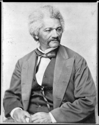 George Francis Schreiber, (German, active United States, 1804-1892), Frederick Douglass, 1870, albumen silver print, image courtesy the Library of Congress