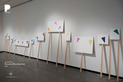 Amalia Pica, Procession (Reconfiguration), 2016