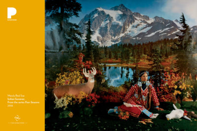Wendy Red Star, Indian Summer, from the series Four Seasons, 2006