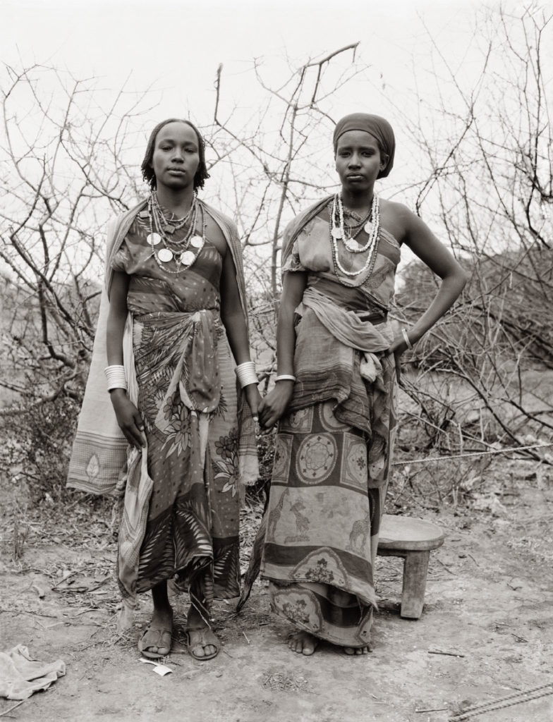 Fazal Sheikh, Borana war widows Dakie Galma Sora and Dira Wako Guyo, Ethiopian refugee camp, Walda, Kenya, 1993, from the series A Sense of Common Ground. © Fazal Sheikh