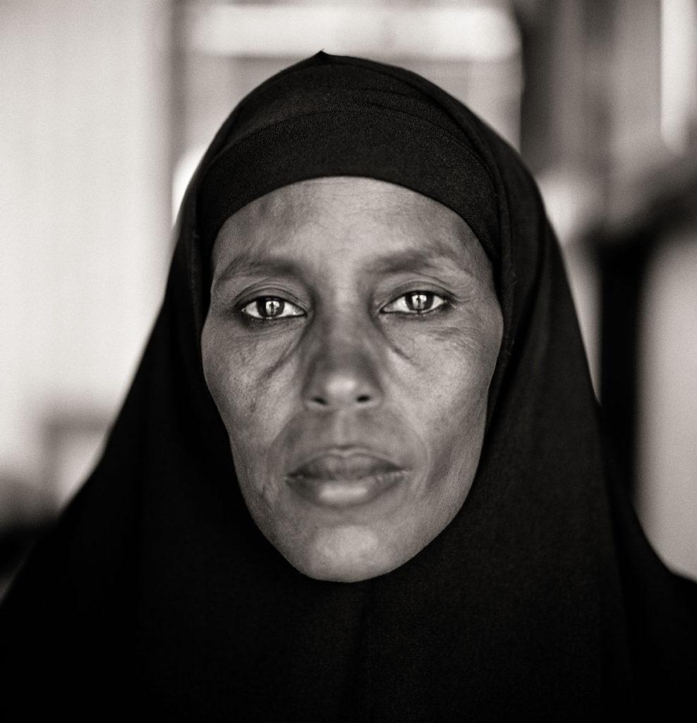 Fazal Sheikh, Abshiro Aden Mohammed, Women's Leader, Somali Refugee Camp, Dagahaley, Kenya, 2000.