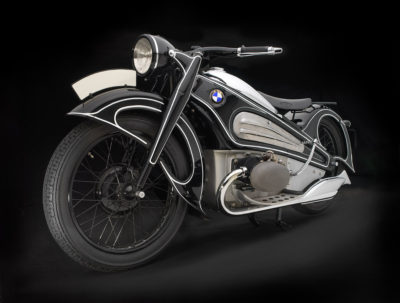 BMW, R7 Concept Motorcycle, 1934. Photo: Peter Harholdt.