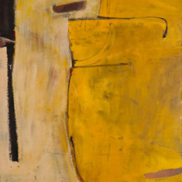 Richard Diebenkorn, Untitled (Albuquerque), 1952. Oil on canvas, 55 7/8 x 43 in. (141.9 x 109.2 cm). © Richard Diebenkorn Foundation