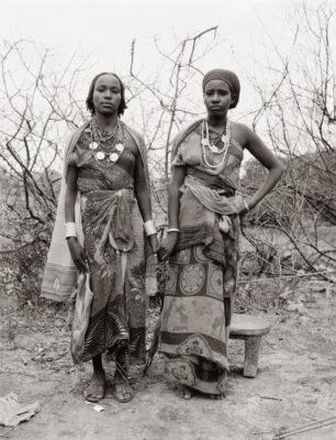 Fazal Sheikh, Borana war widows Dakie Galma Sora and Dira Wako Guyo, Ethiopian refugee camp, Walda, Kenya, 1993.
