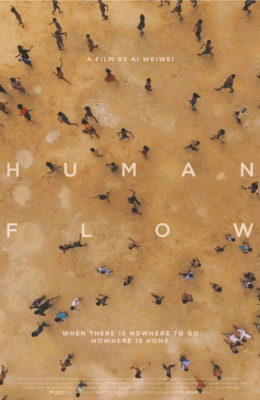 Poster for Ai Weiwei's Human Flow