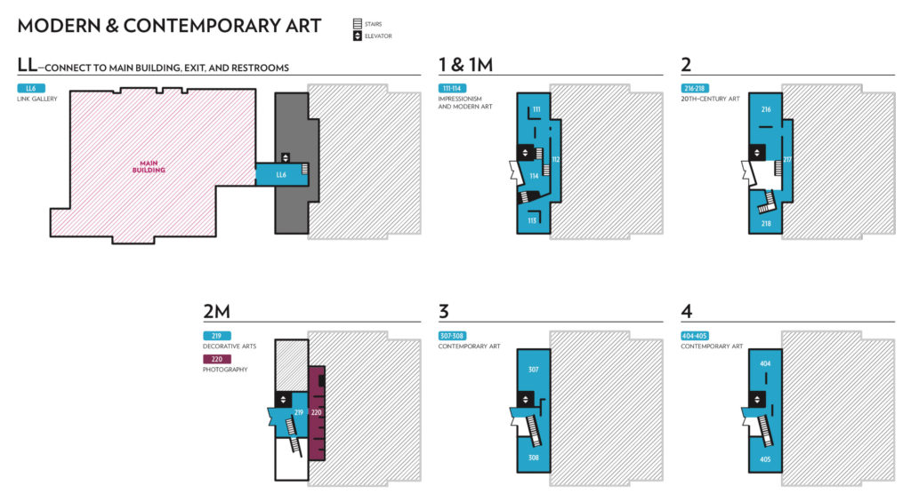 Gallery Map: Modern & Contemporary Building