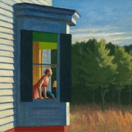 Edward Hopper, Cape Cod Morning, 1950.