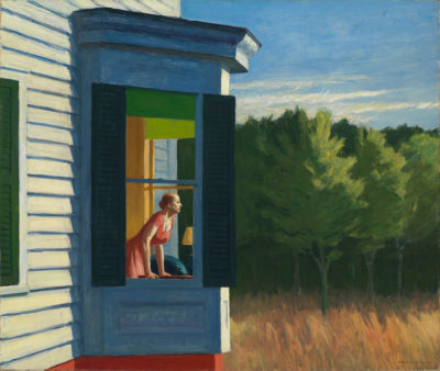 Edward Hopper, Cape Cod Morning, 1950.