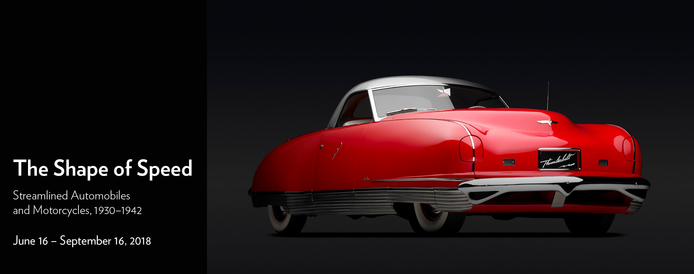 The Shape of Speed: Streamlined Automobiles and Motorcycles, 1930–1942