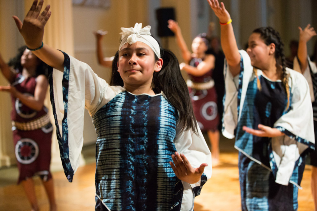 Children dancing at Heart of Portland