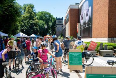 Miller Family Free Day: The Green Loop Sunday Parkways