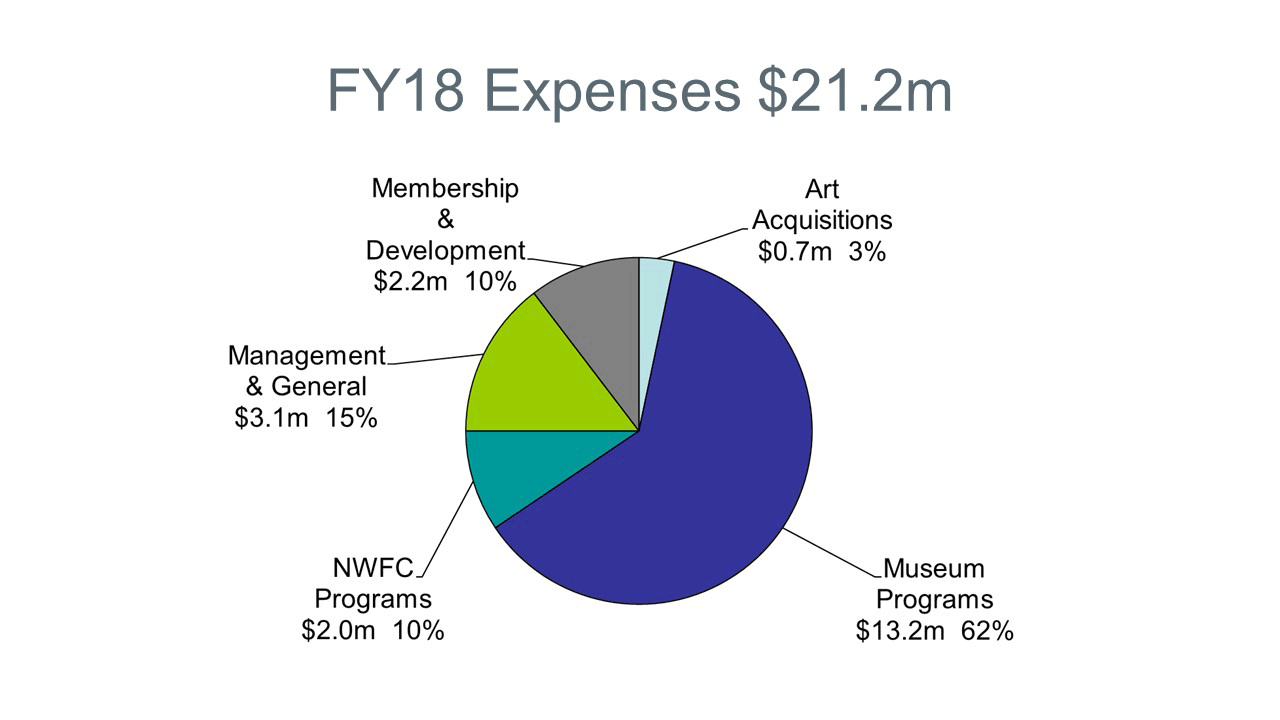 Chart of 2018 Expenses