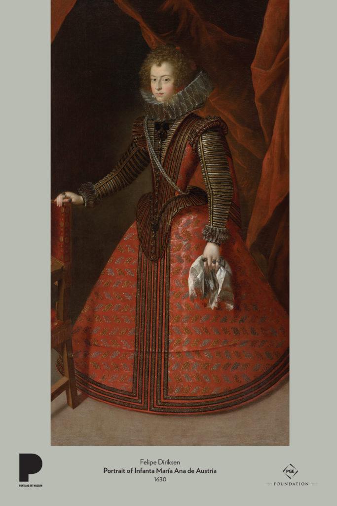 Felipe Diriksen, Portrait of Infanta María Ana de Austria, 1630
