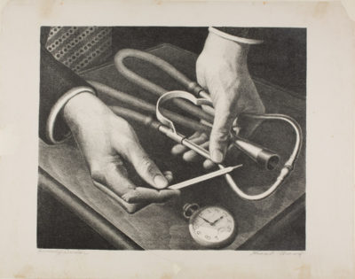 Grant Wood, Family Doctor, 1941