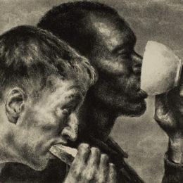 Joseph Hirsch, Banquet, 1945