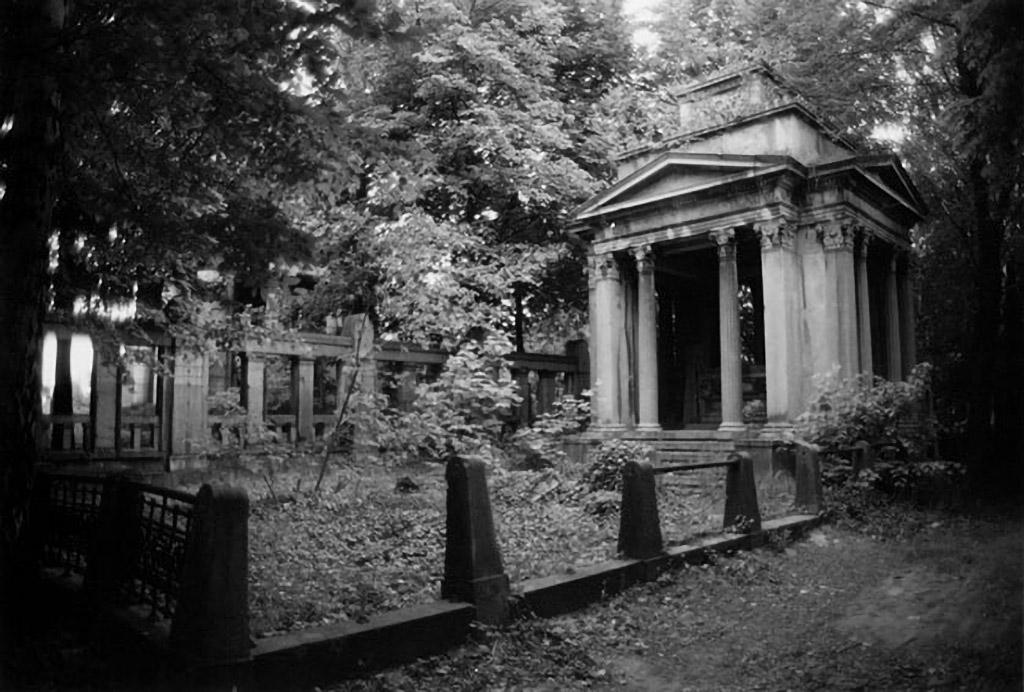 Mausoleum at Lodz Cemetery.