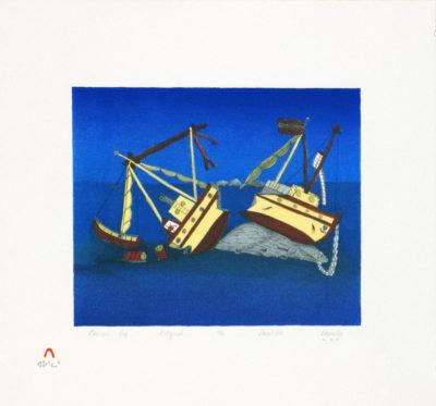 Napachie Pootoogook, Nascopie Reef, 1989