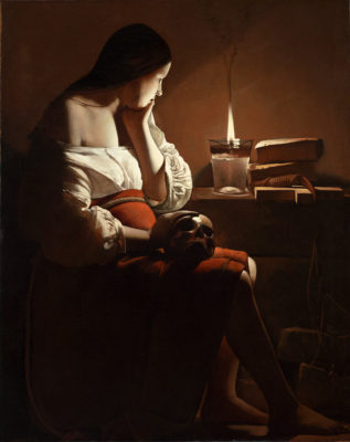 Georges de La Tour, The Magdalen with the Smoking Flame, ca. 1635–37.