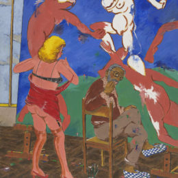Robert Colescott, Beauty is in the Eye of the Beholder, 1979.
