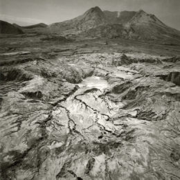 Emmet Gowin , Debris Flow at the Northern Base of Mount St. Helens, Looking South, 1983.
