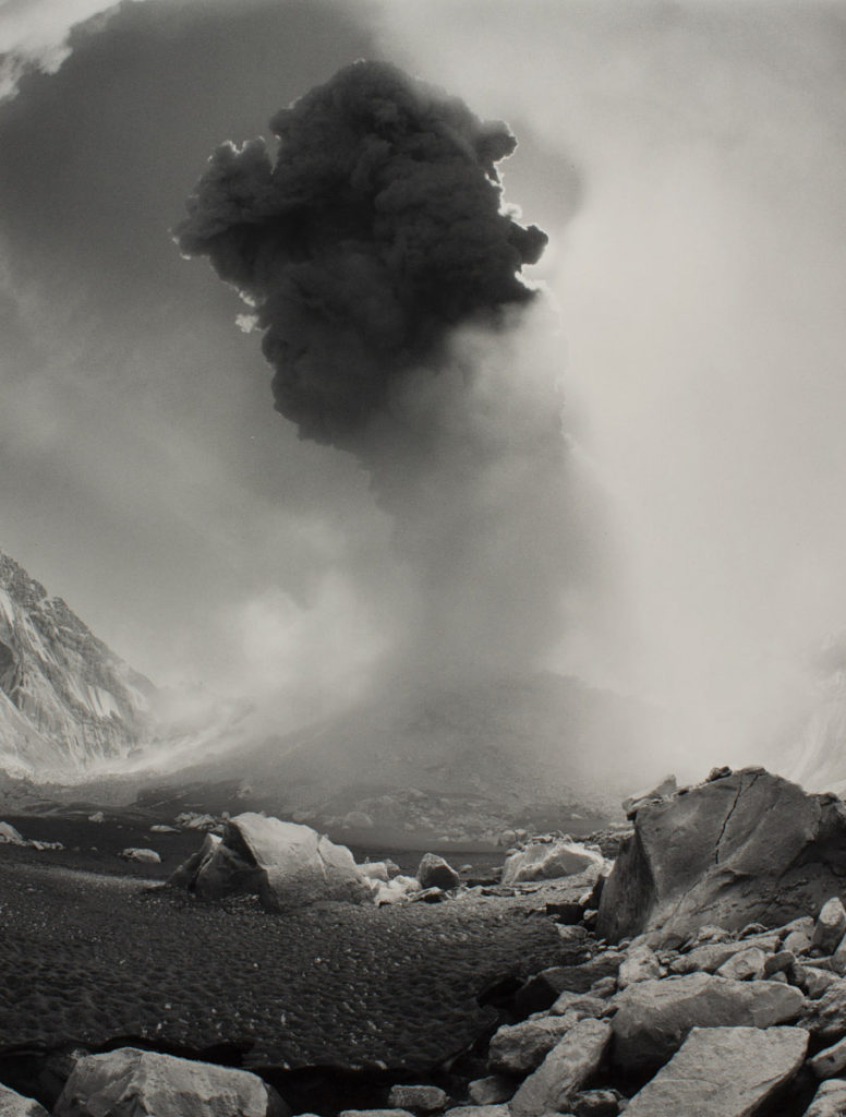 Mathias Van Hesemans (American, born 1946), Eruption, 1983, Mount Saint Helens, 1983.