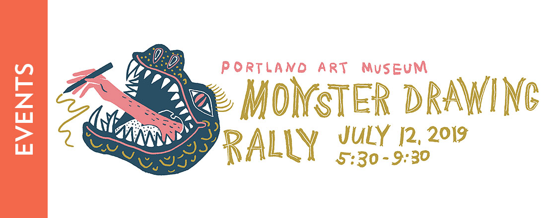 Monster Drawing Rally V: July 12, 5:30 p.m.
