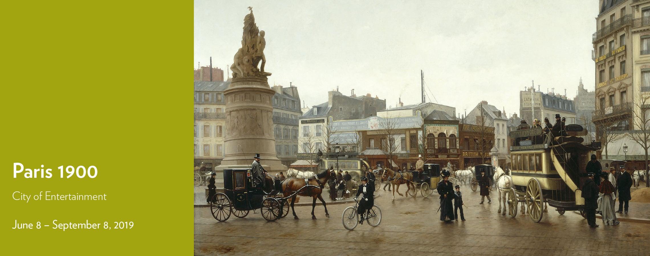 Paris 1900: June 8 – September 8, 2019