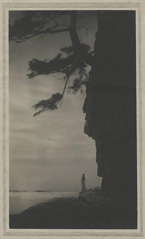 Anne W. Brigman, Infinitude, 1915