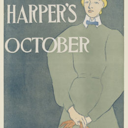 Edward Penfield, Harper's October, 1896.