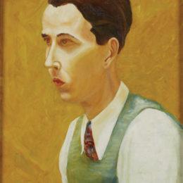 Bue Kee, Self-Portrait, ca. 1930.