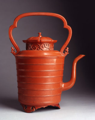 Japan, unknown artist (Japanese), Negoro Ware Ewer for Hot Water, 17th century.