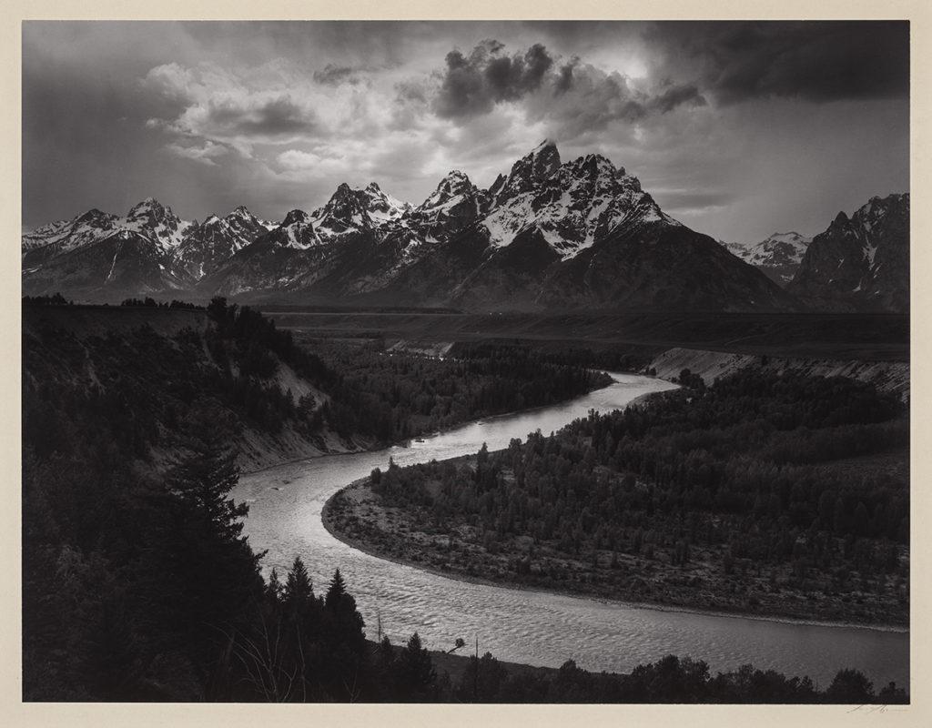 Ansel Adams (American, 1902–1984), The Tetons and Snake River, Grand Teton National Park, Wyoming (detail), 1942