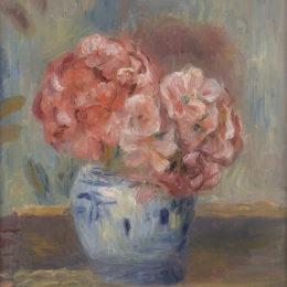 Pierre Auguste Renoir, Geraniums, 1910/1919.