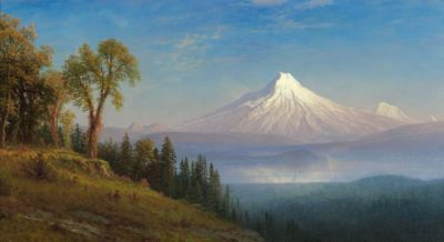 Painting of Mount St. Helens