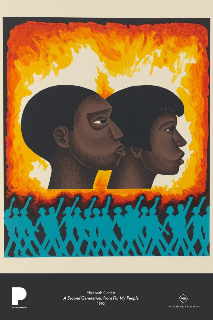 Elizabeth Catlett (Mexican, born United States, 1915–2012) A Second Generation, from For My People, 1992